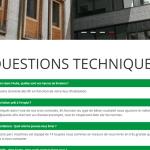 Page questions techniques