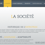Page société